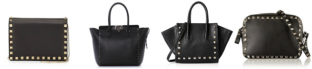 "Three of these bags are from Valentino for thousands of dollars and one is from Jagger on sale for $16 (regular $80). Can you guess which one is the ""impostor""? Click the links below to see if you are correct!"
