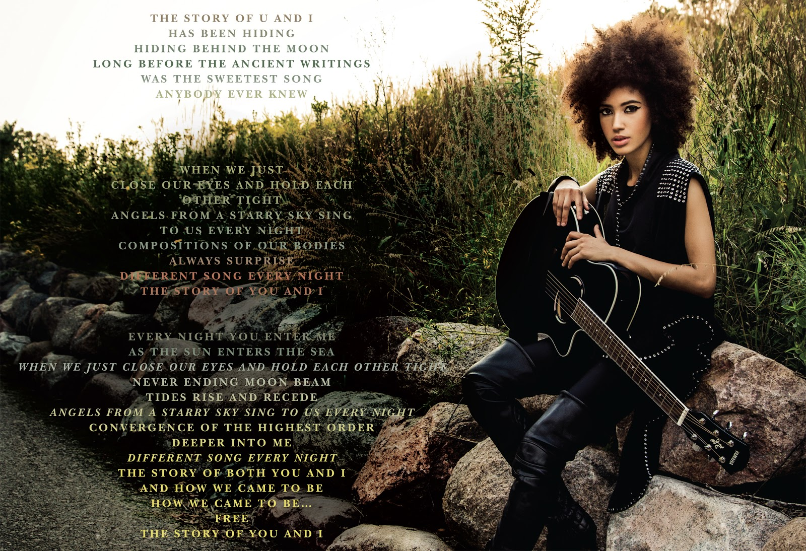 Prince and andy allo 2011 2014 and i gives us a snapshot of a conversation between lovers perhaps one thats personal enough to make us think that maybe we shouldnt be intruding ccuart Images