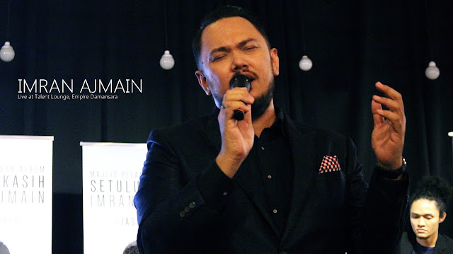 Imran Ajmain #SetulusKasihTour Talent Lounge, Empire Damansara