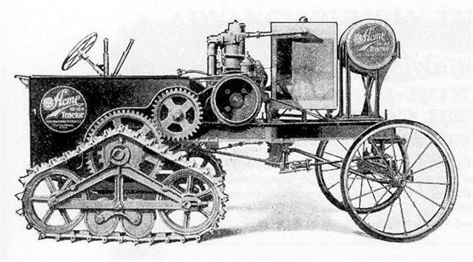 Acme Garden Tractor : Jrc moif s primary interesting half tracks