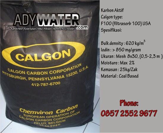 Promo Karbon Aktif Calgon f 100, Jual Karbon Aktif Calgon, Jual Karbon Aktif, Calgon Filtrasorb 100