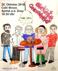 ......Oberkärntner Comiczeichnertreff....., DO, 25.10.2018, 18:30 Uhr, Café Moser, Spittal/Drau