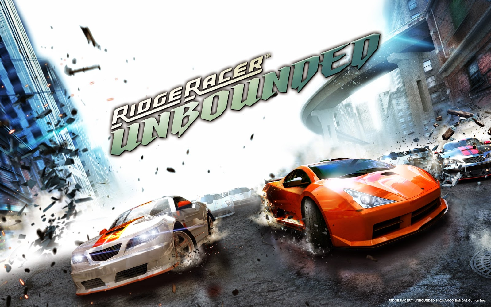 Ridge Racer Unbounded Game Working