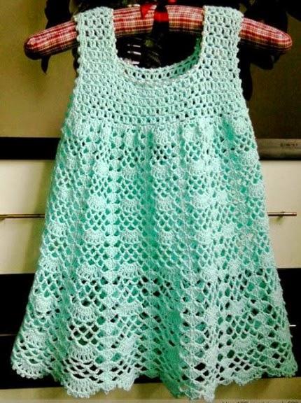 Beautiful Lacy Dress - Free pattern