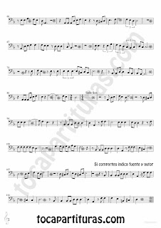 Tubescore Black Tears Sheet music for Cello and Bassoon Lagrimas Negras by Bebo valdes Bolero music score