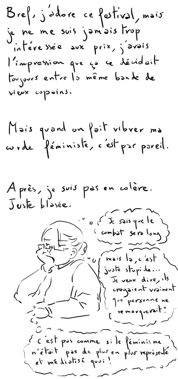 FIBD d'Angoulême, sexiste ?