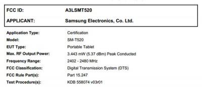 Samsung Daftarkan Perangkat Tabletnya ke FCC