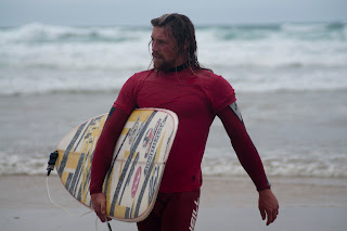 Surfer Ben Skinner, Cornwall