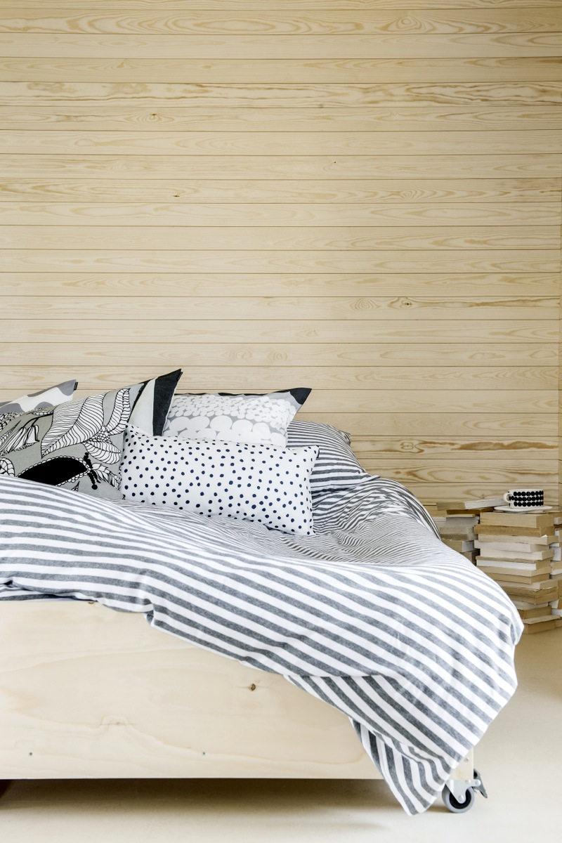 Marimekko bedlinen and pillows