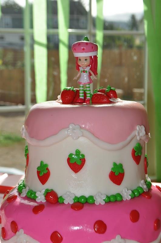 Peach Of Cake Strawberry Shortcake Birthday Cake