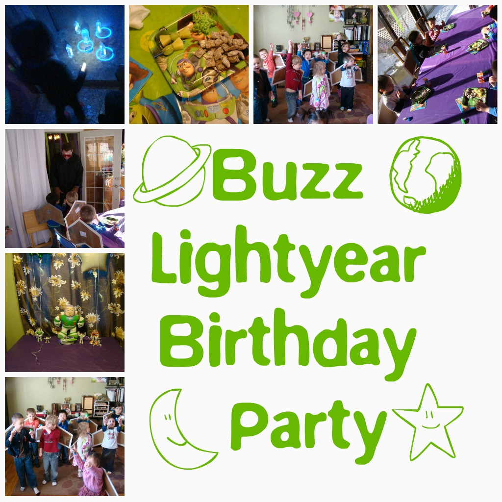 Fireflies and Jellybeans Buzz Lightyear Party Invites – Buzz Lightyear Birthday Card