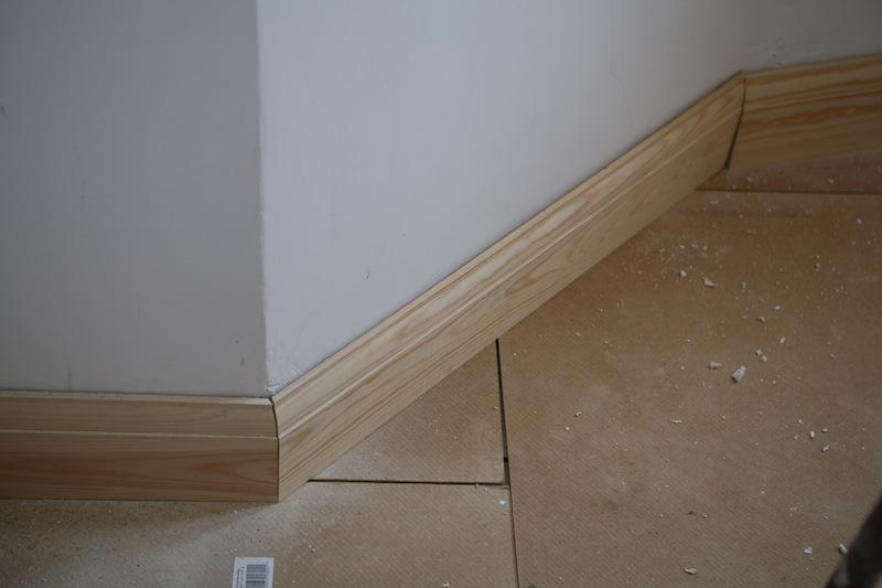 installing skirting boards fitting carpet under skirting boards wiring behind skirting boards