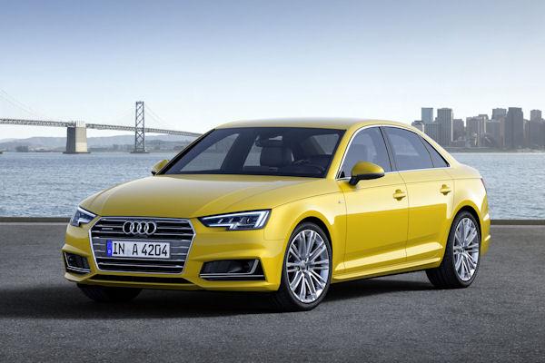 new Audi A4 B9 2016