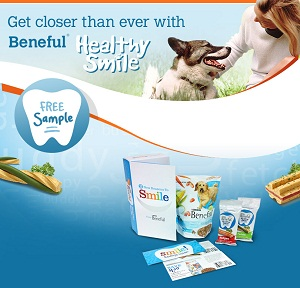 Free Beneful Healthy Smile Adult Dog Food and Snacks Sample Pack