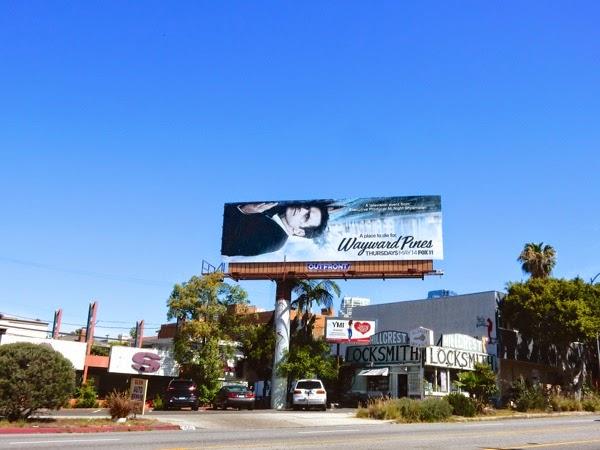 Wayward Pines tv series billboard