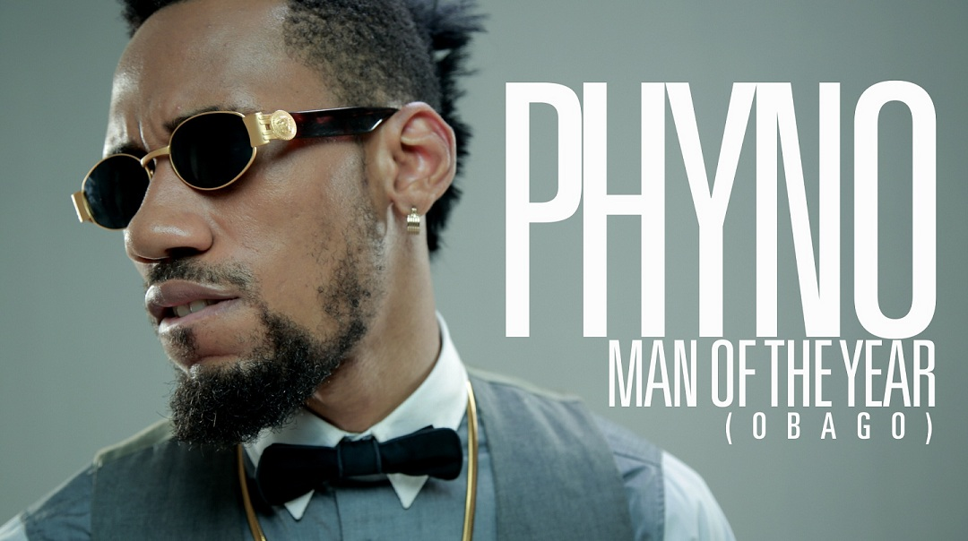 Phyno - Man of the year Cover