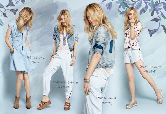 vestido de Jeans Rapsodia 2013