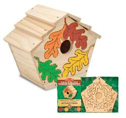 Melissa And Doug Build Your Own Birdhouse Kit