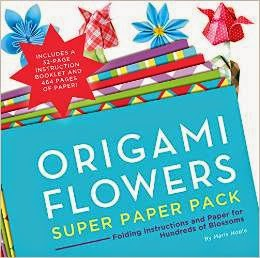 Latest-Origami Flowers Super Paper Pack: Folding Instructions and Paper for Hundreds of Blossoms
