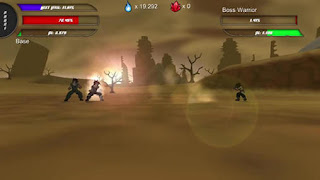 Screenshots of the Power level warrior for Android tablet, phone.