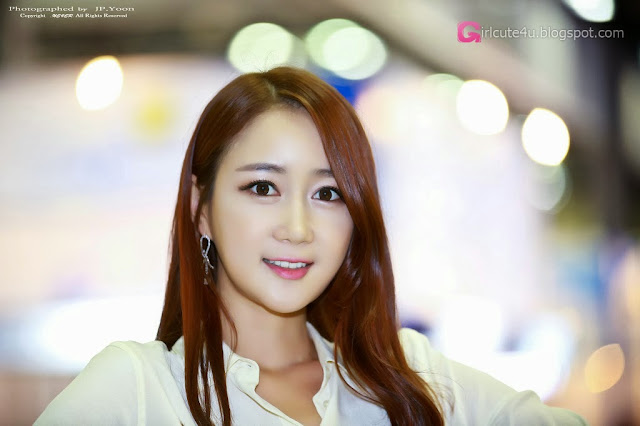 1 Han Chae Yee - Korea Electronics Show 2013-Very cute asian girl - girlcute4u.blogspot.com