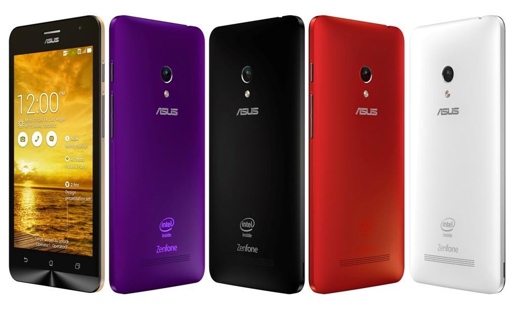 Asus Zenfone 5 - Smartphone dengan layar 5 inci