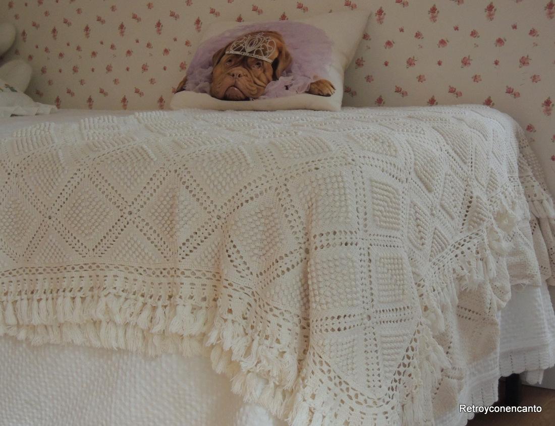 Retro y con encanto septiembre 2013 - Aplicaciones de crochet para colchas ...