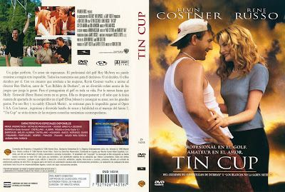 Cover, carátula, dvd: Tin Cup | 1996