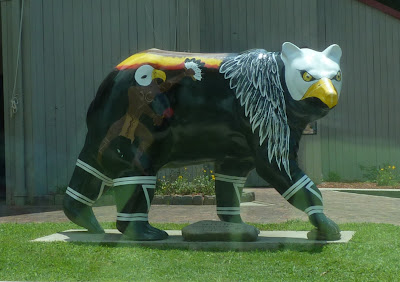 painted bear - eagle