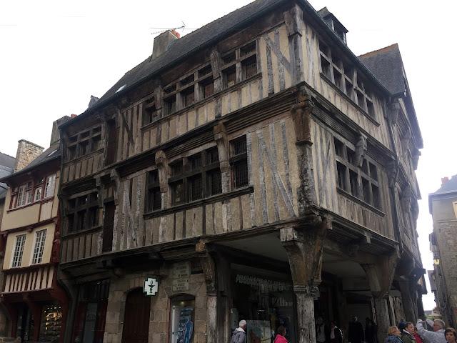 Dinan, Bretania, Francja, 2015