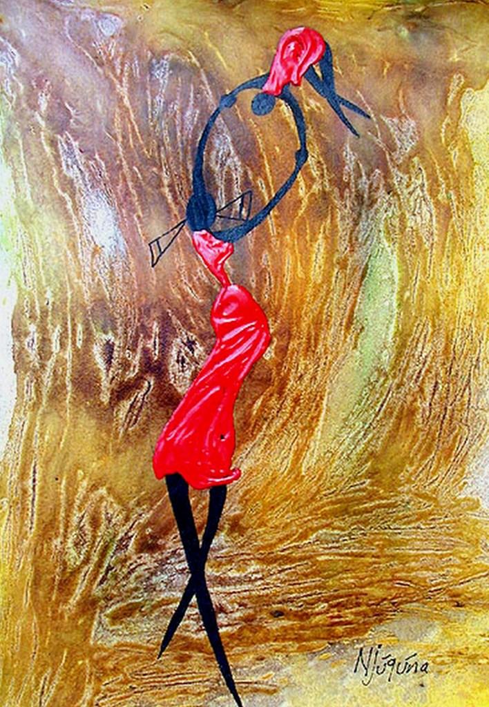 Cuadros pinturas oleos cuadros modernos con africanas for Cuadros al oleo modernos