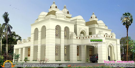 Islamic style house architecture