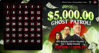 Ghost Patrol game from Publishers Clearing House Lotto