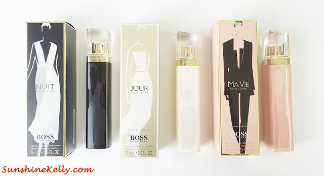 Fashion x Fragrance, Hugo Boss, The BOSS WOMAN Runway Edition 2015, Nuit, Ma Vie, Jour, Pour Femme, Perfume, Fashion, Fragrance