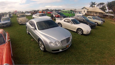 Everything is welcome, Bentlays, Mazda's, BMW's, Skyline GTR's, Beetles and Kombi's