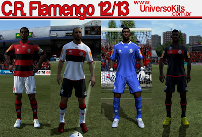 Flamengo2012 Mateus+Guedes Universo+Kits FIFA 12: Uniforme CR Flamengo 12/13