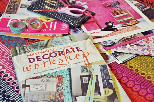"[luzia pimpinella BLOG] inspiriert von ""decorate workshop"" ... wir stöbern durch wohnmagazine! / inspired by ""decorate workshop"" ... we're browsing through interior magazines"
