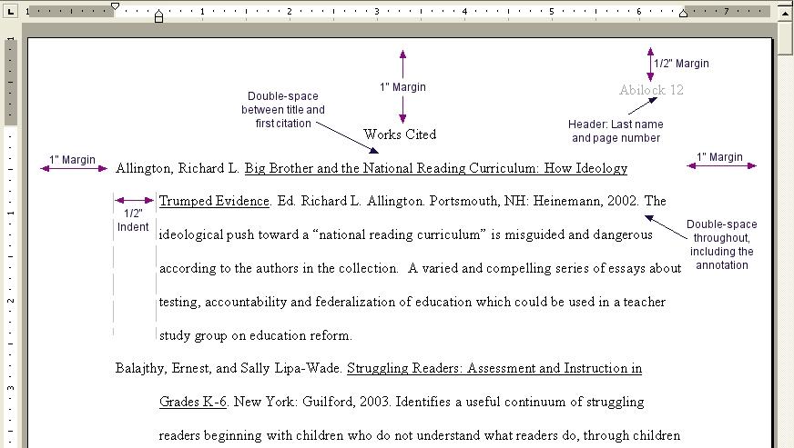 Mla Format Argumentative Essay Examples