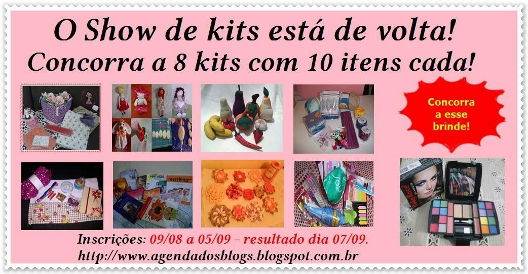 SHOW DE KITS 2 COM O AGENDAS DOS BLOGS