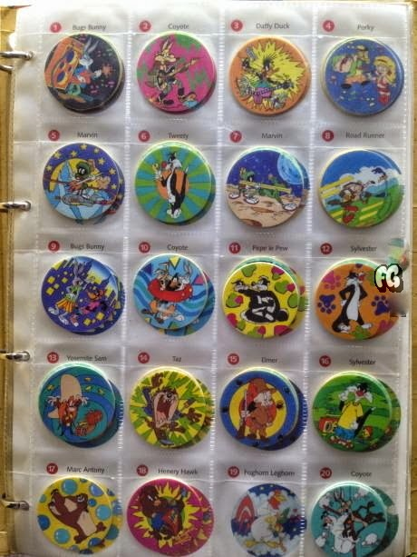 My Childhood Tazos Collection