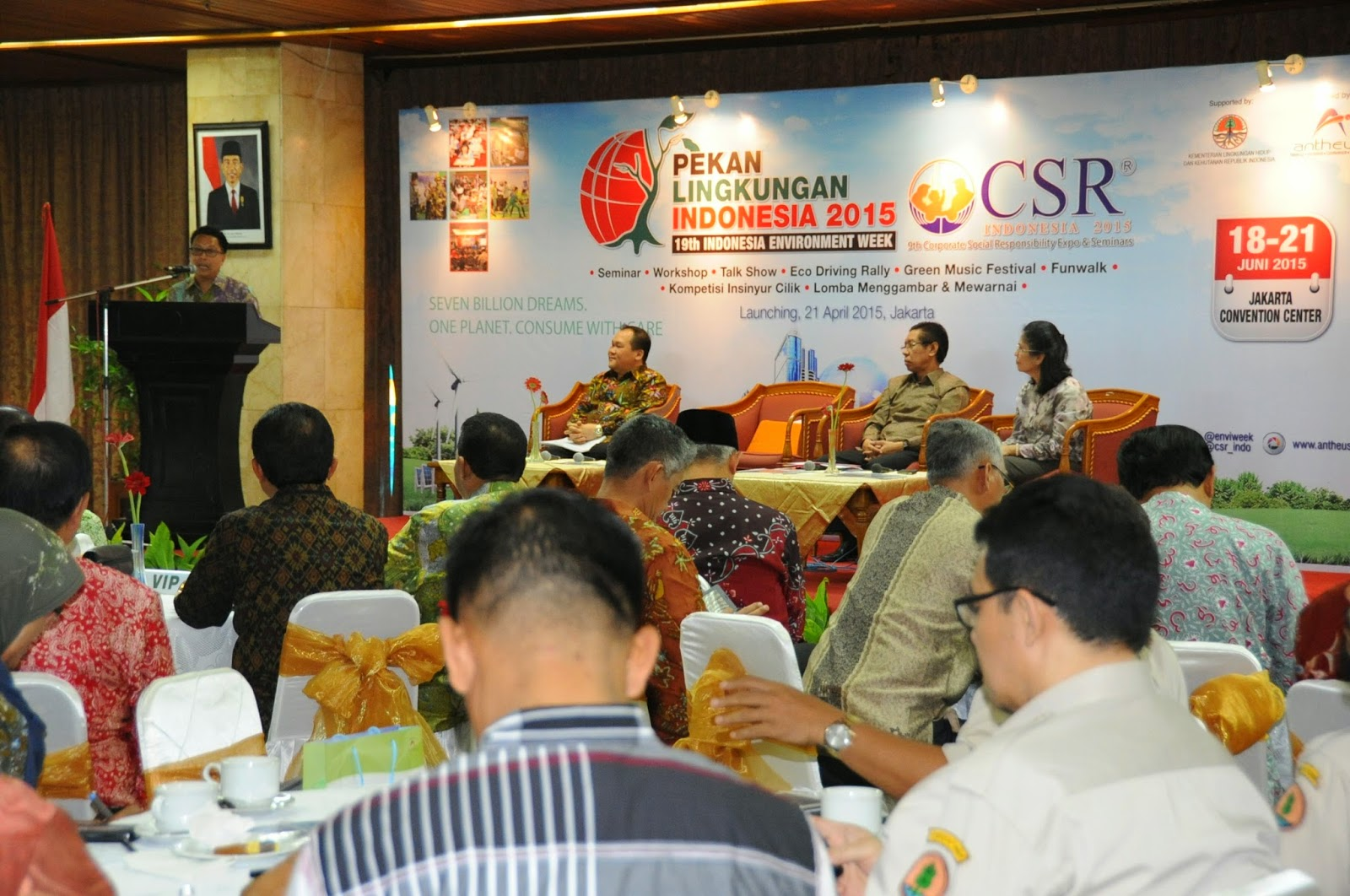 PLI 2015, Ajang Edukasi Lingkungan