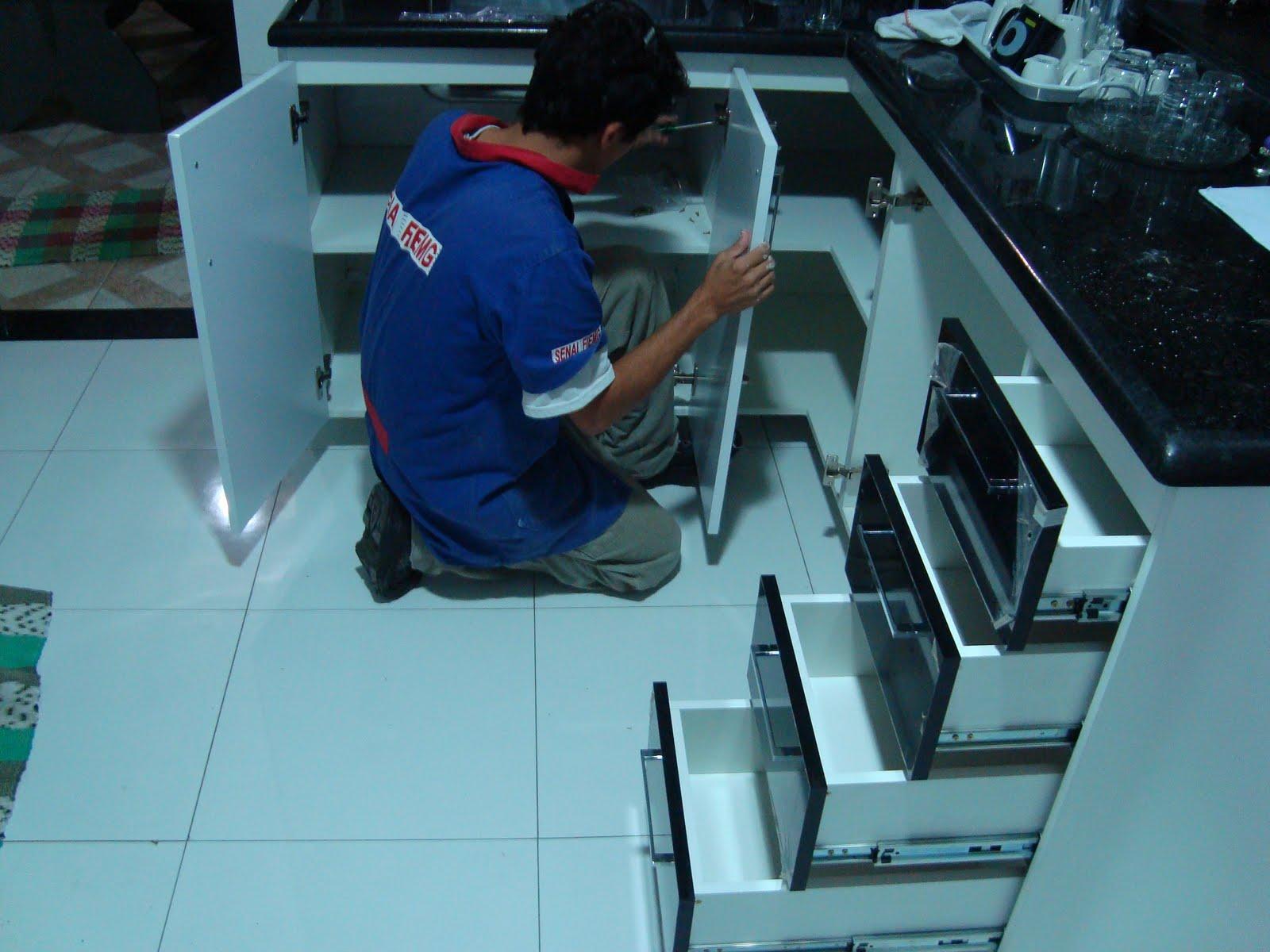#1C90AF  de cozinha e banheiro em MDF Laca brilhante. Passo a passo 1600x1200 px Projeto Armario De Cozinha Passo A Passo_4006 Imagens