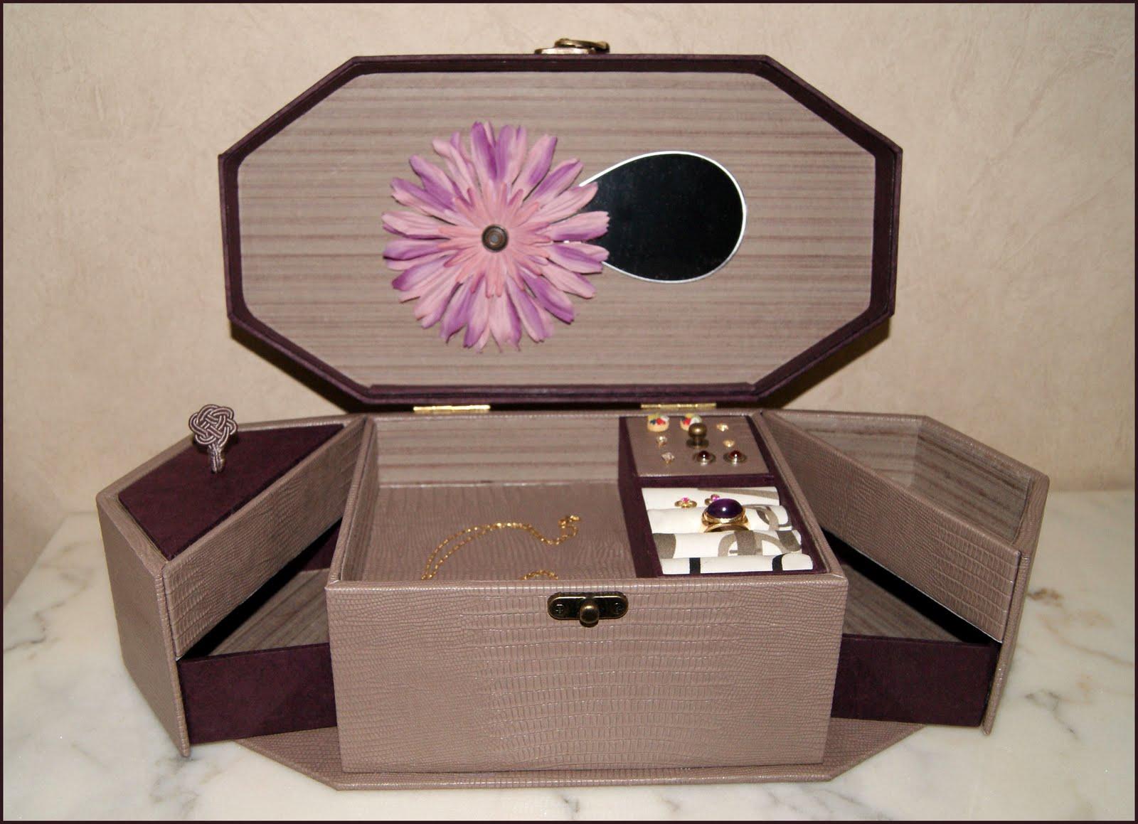 recreations bo te bijoux. Black Bedroom Furniture Sets. Home Design Ideas