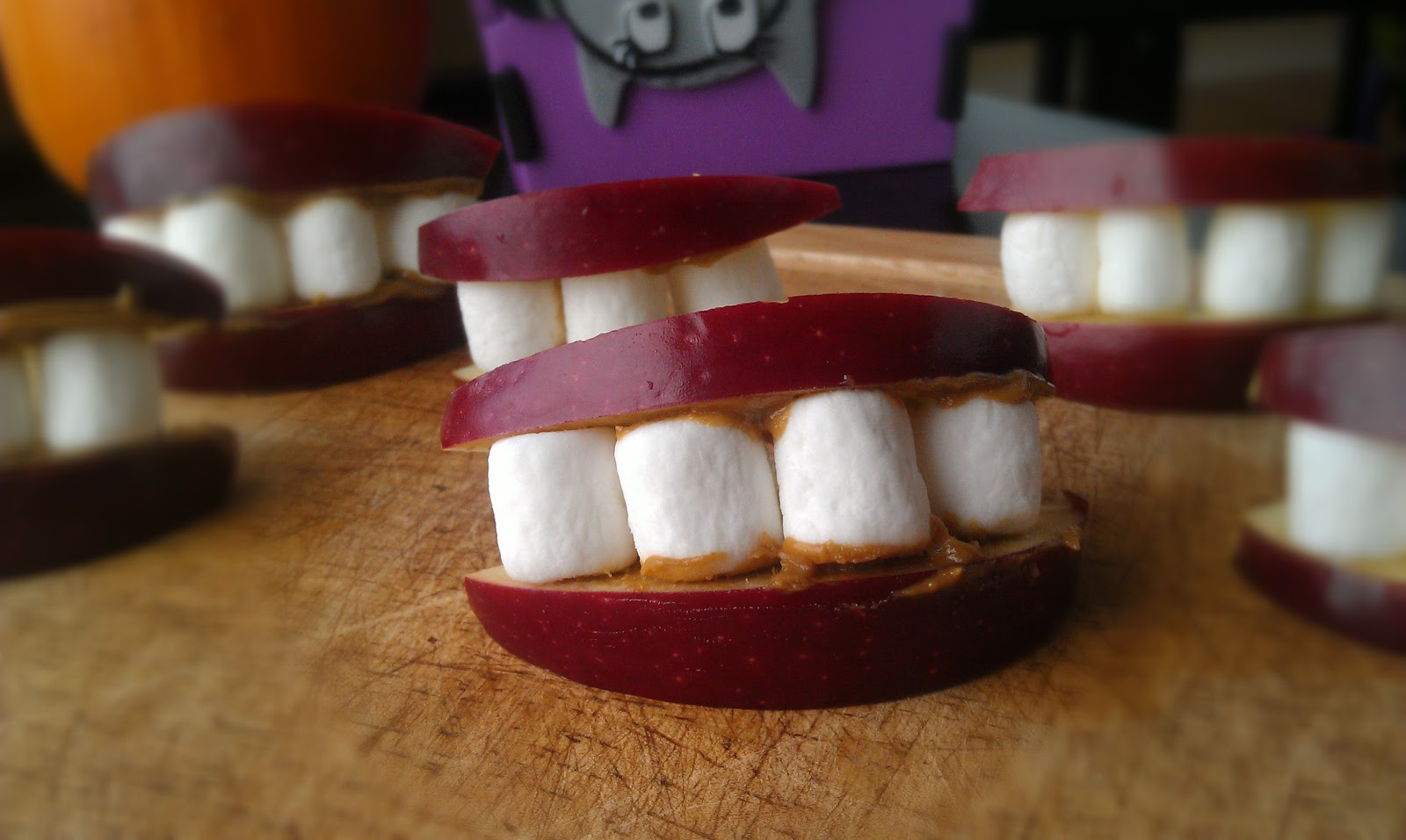 these treats are cute and creepy at the same time a perfect snack for halloween or a perfect safe snacktreat for a halloween party