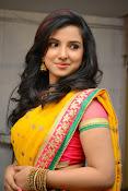 Leema glamorous photos in half saree-thumbnail-6