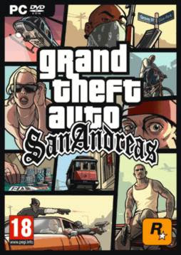 GTA: San Andreas PC Cover