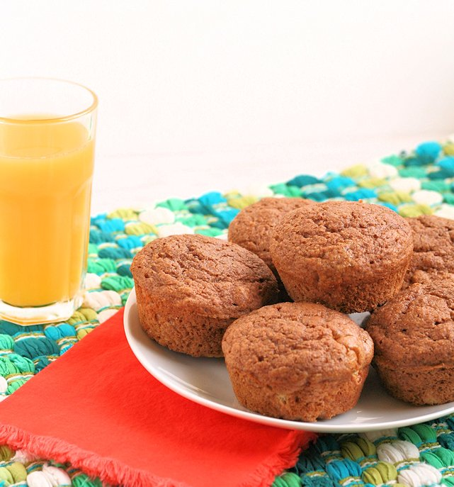 Cinnamon Maple Muffins ~ Healthy, light, & airy, with no refined sugar!