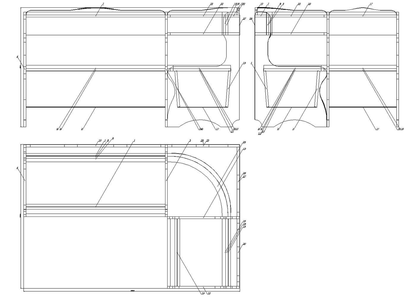 чертежи схемы инструкции по сборке листогибов