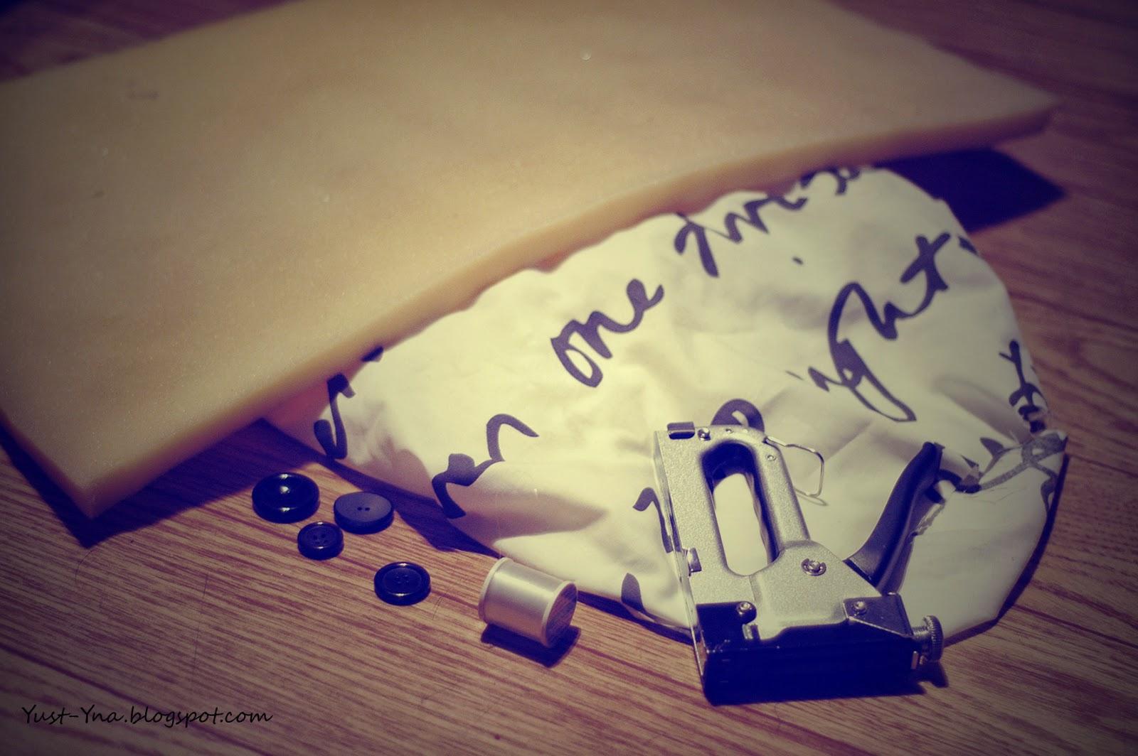 Jak zrobić pikowane odicie ławki - DIY