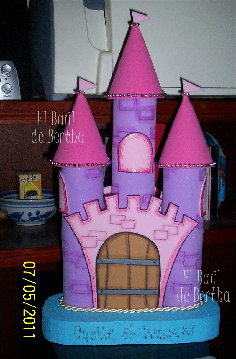 Moldes de castillos de foami imagui for Sobres de goma eva